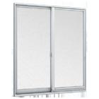 窓カバー工法 引き違い窓2枚建て(網入りガラス)