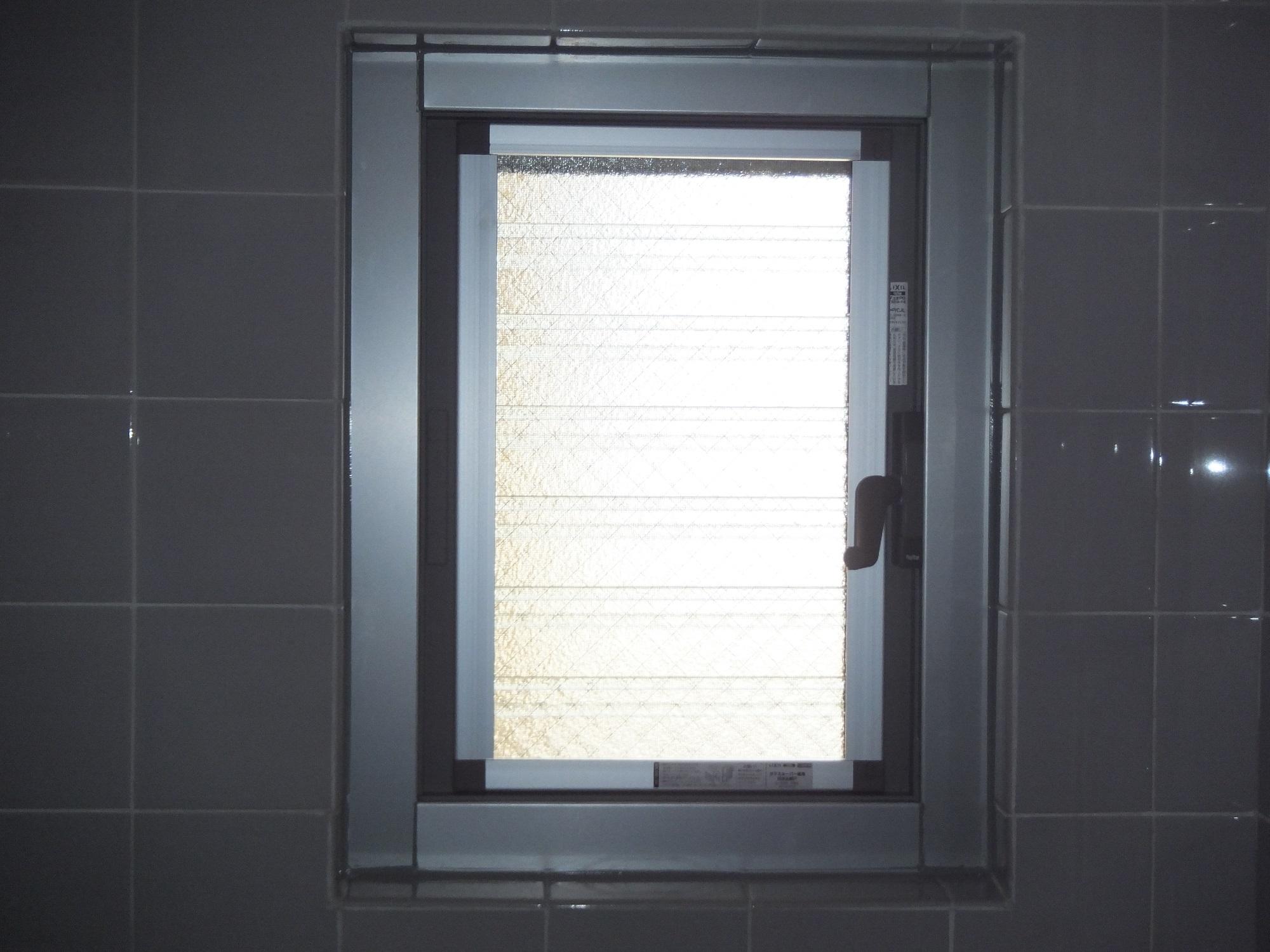 浴室の窓も交換しませんか?