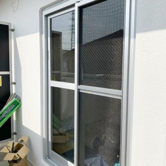 埼玉県越谷市 カバー工法 窓リフォーム 空き巣