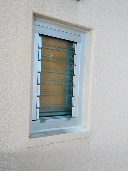 千葉県浦安市 カバー工法 窓リフォーム ダブルガラスルーバー