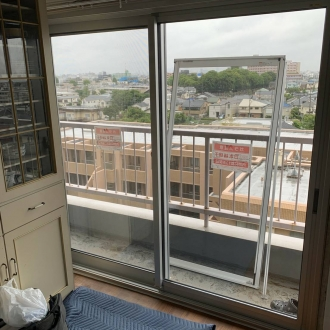 東京都練馬区 K様 カバー工法 サッシ交換工事 LIXIL プローゼ